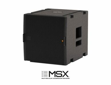 Martin Audio - MSX con amplifcatore e DSP (1 sub pilota e controlla 4 MLA Mini)