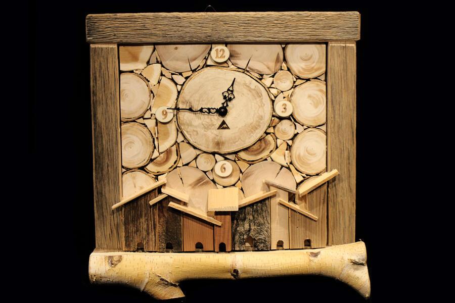 Orologio rustico 4