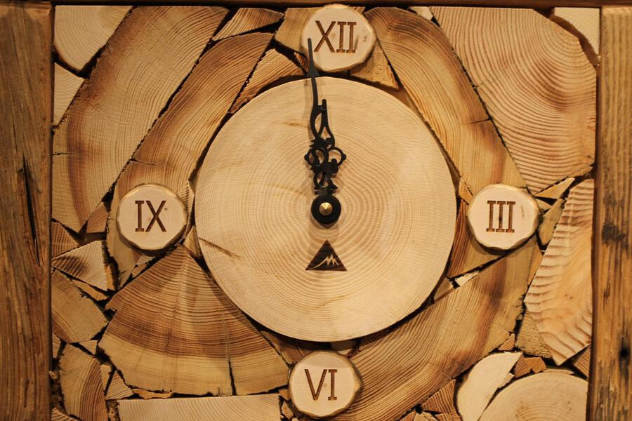 Orologio rustico 7