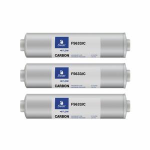 Filtro in linea Swan 12 Carboni attivi in confezione da tre pezzi