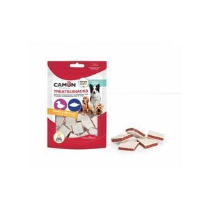 Camon AE506 Snack Per Cani Cubetti di anatra e Merluzzo Essiccati