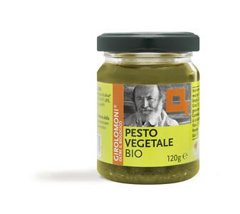 Pesto Vegetale Biologico, Girolomoni, 120 gr