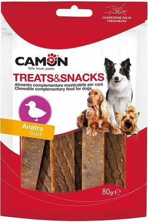 Camon AE018 Snack Per Cani Stick Anatra Premietti Bastoncini