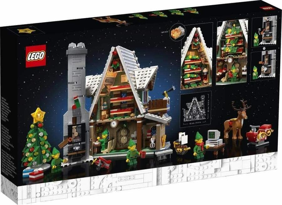 La casa degli Elfi - LEGO 10275 - 18+