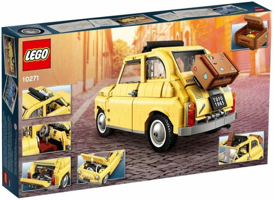 Fiat 500 - LEGO Creator Expert 10271 - 16+
