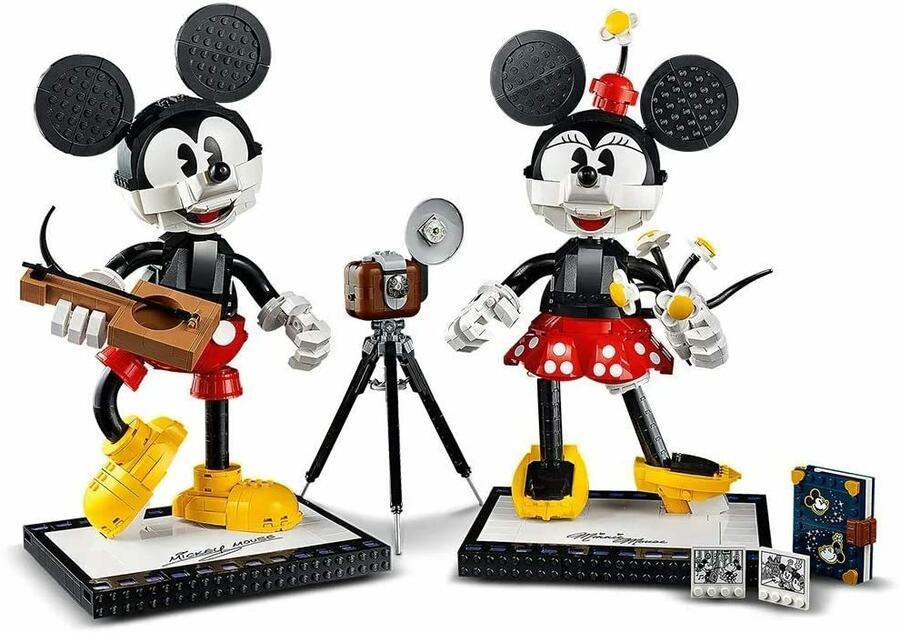 Personaggi costruibili di Topolino e Minnie - LEGO 43179 - 18+