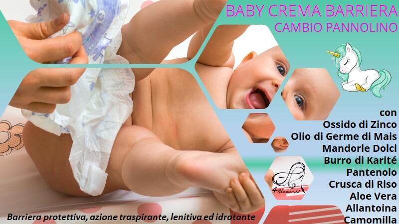 BABY CREMA BARRIERA CAMBIO PANNOLINO