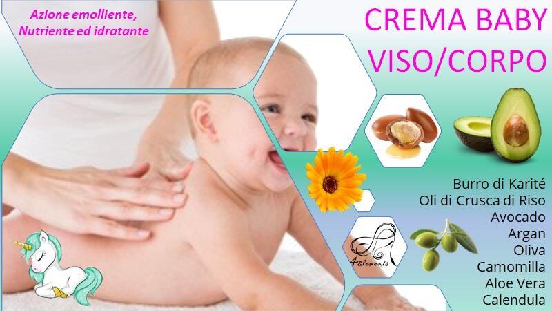 BABY CREMA VISO E CORPO