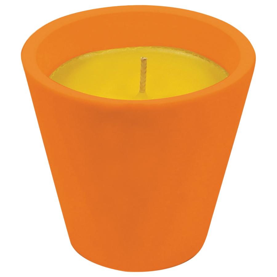Bicchiere Caribe in Terracotta con Citronella