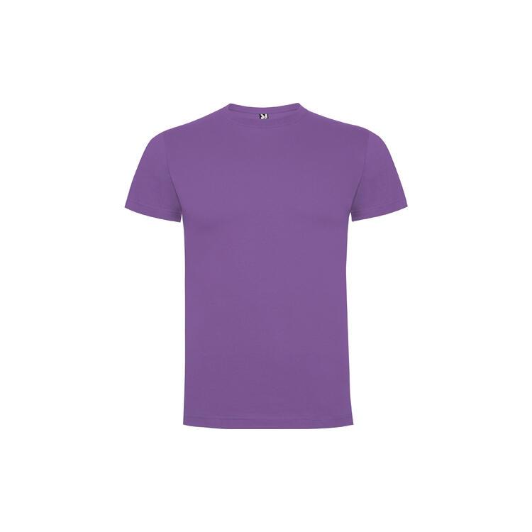 T-shirt violetto colore 230 mezza manica