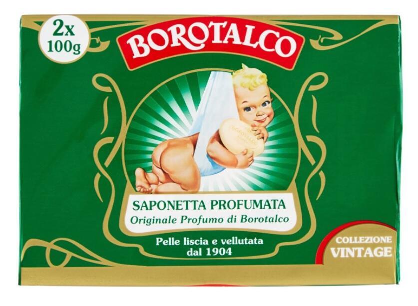 Borotalco Sapone Solido - Duetto 2x100gr