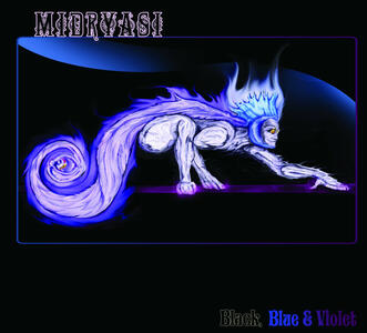 MIDRYASI - BLACK, BLUE & VIOLET - LP  (Rockwolf Records)