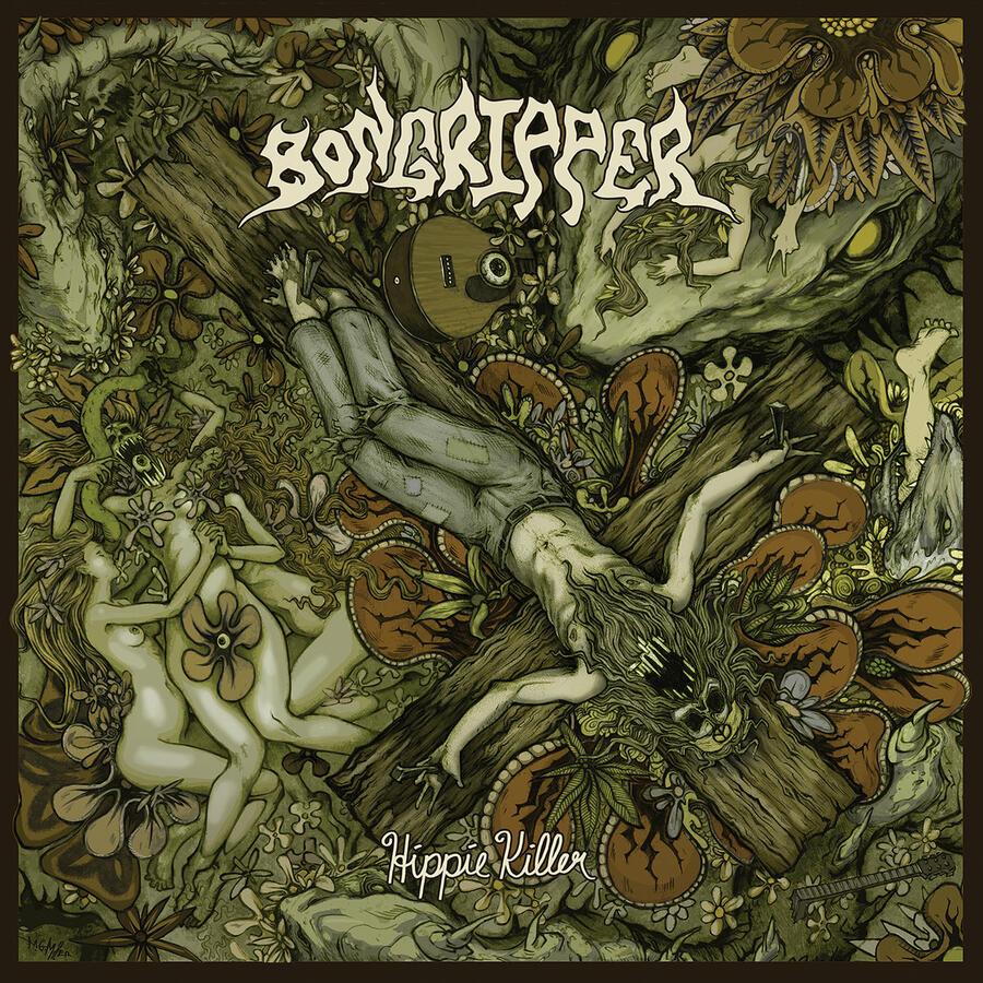 BONGRIPPER - HIPPIE KILLER - 2LP COKE/YELLOW (Great Barrier Records)