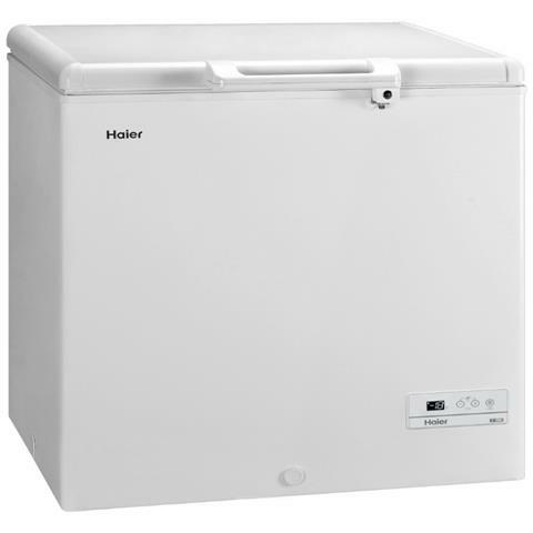 HAIER Congelatore Orizzontale HCE259R Classe F Capacità Netta 259 Litri Colore Bianco