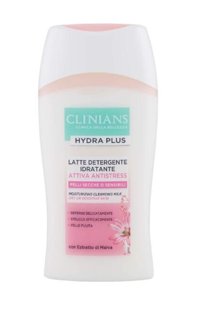 Clinians Attiva Antistress, Late Detergente con Estratto di Malva, 200ml