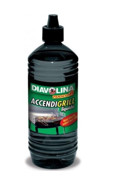 Diavolina Accendigrill Liquido 1000ml