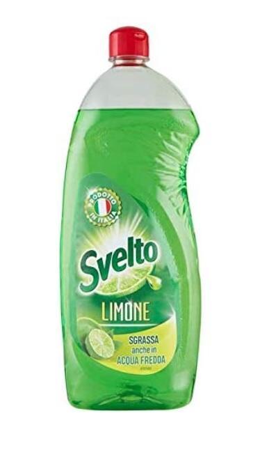 Svelto Limone Water Detersivo per lavastoviglie al limone 1 litro
