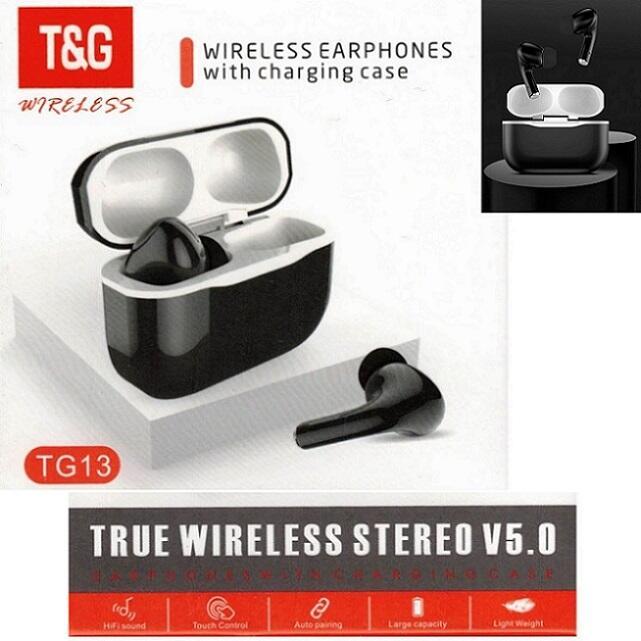 Cuffie Bluetooth  TG13 TWS auricolari senza fili