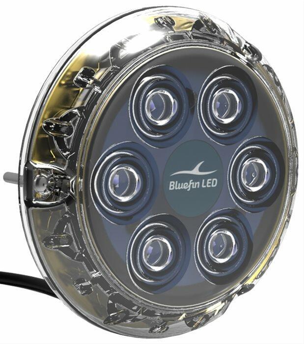 Led Subacqueo Piranha P6 Nitro Dual con prerogativa Nitro Boost di Bluefin LED - Offerta di Mondo Nautica 24