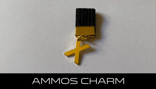 AMMOS CHARM - LETTERA X