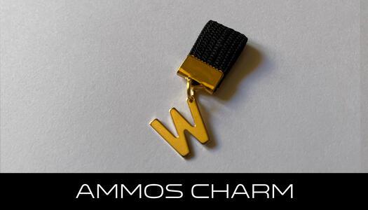 AMMOS CHARM - LETTERA W