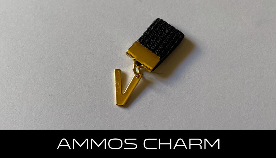 AMMOS CHARM - LETTERA V