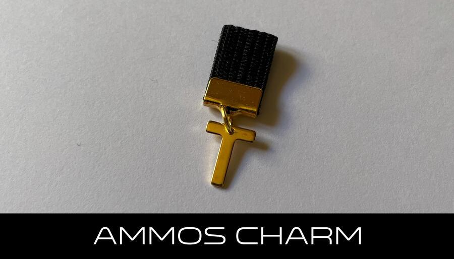 AMMOS CHARM - LETTERA T