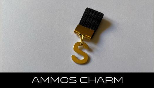 AMMOS CHARM - LETTERA S