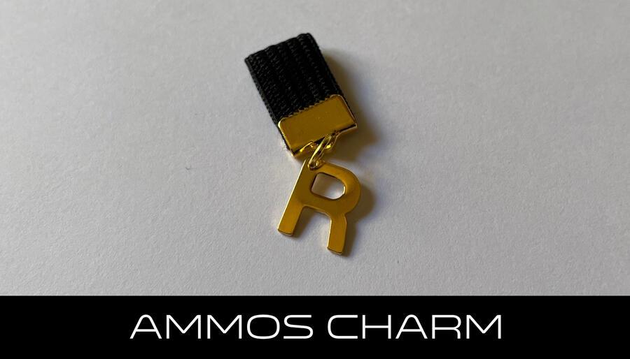 AMMOS CHARM - LETTERA R