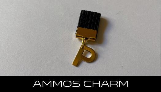 AMMOS CHARM - LETTERA P