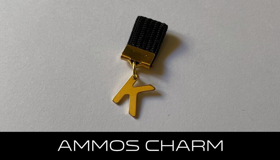 AMMOS CHARM - LETTERA K