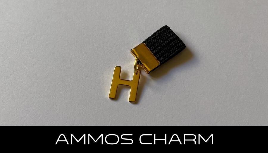 AMMOS CHARM - LETTERA H