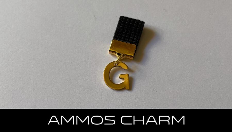 AMMOS CHARM - LETTERA G