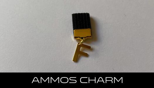 AMMOS CHARM - LETTERA F