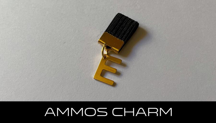 AMMOS CHARM - LETTERA E