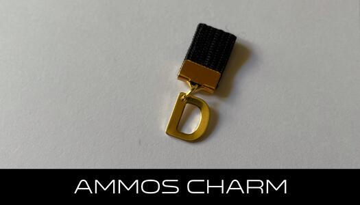 AMMOS CHARM - LETTERA D