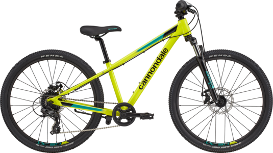 Cannondale Kids Trail 24 - 2021 - Nuclear Yellow