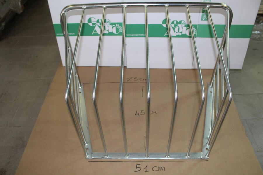 Rastrelliera da fieno in metallo zincato mod. grande
