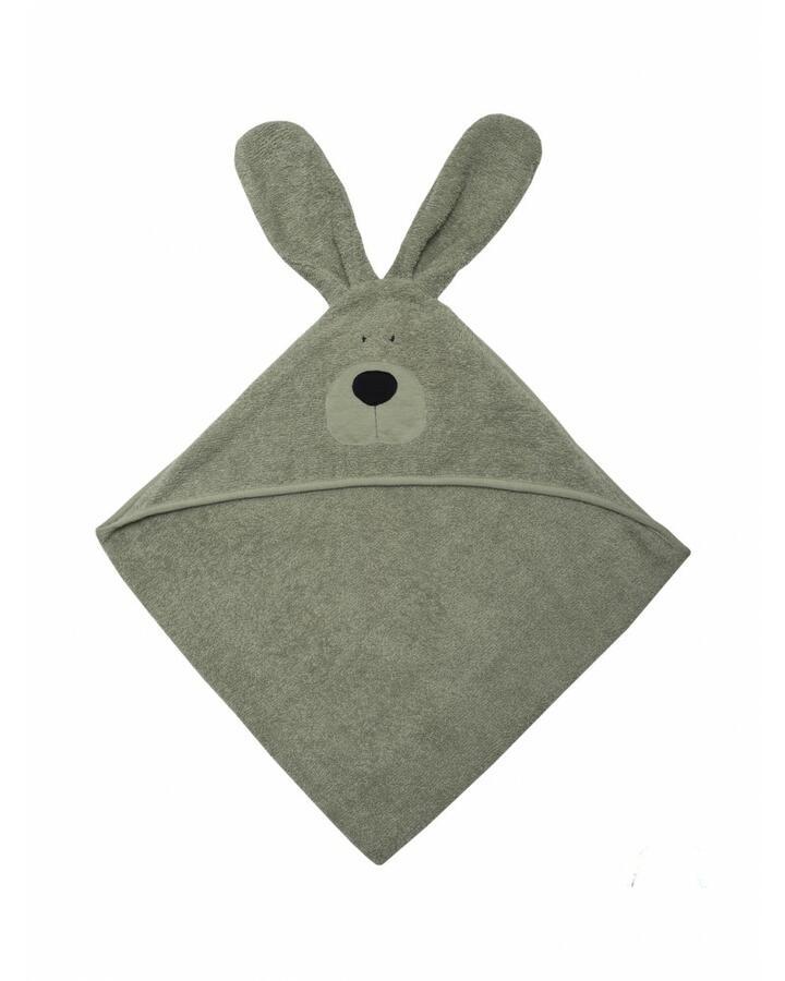 Telo da bagno Bunny Baby in Cotone Gots