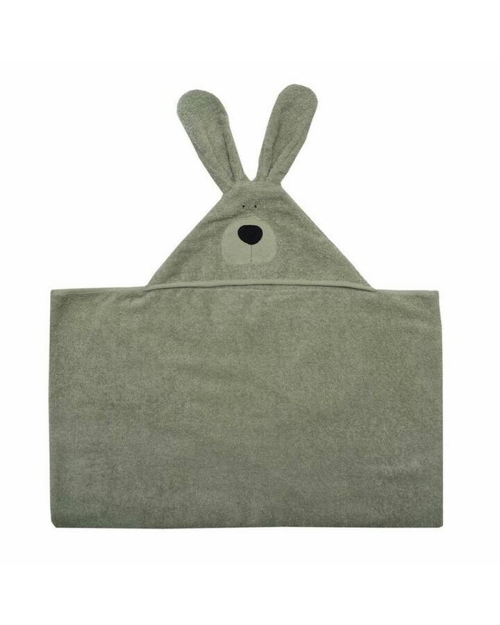 Telo da bagno Bunny Junior in Cotone Gots