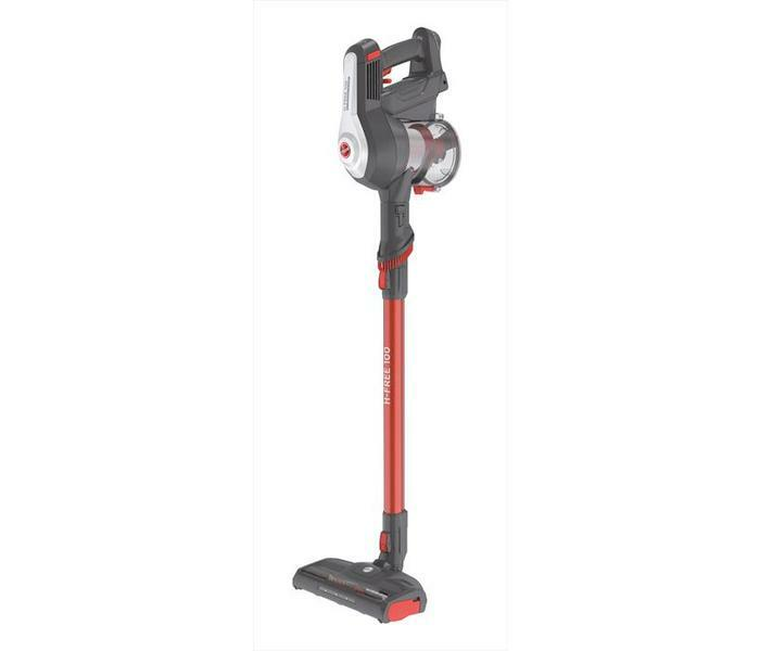 HOOVER Scopa elettrica cordless 2in1 H-Free 100 HF122AH 011 rosso/nero