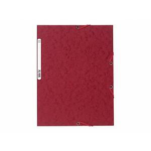 EXACOMPTA Cartellina  con elastico A4 Rosso Ciliegio