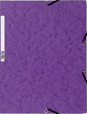 EXACOMPTA Cartellina  con elastico A4  Viola