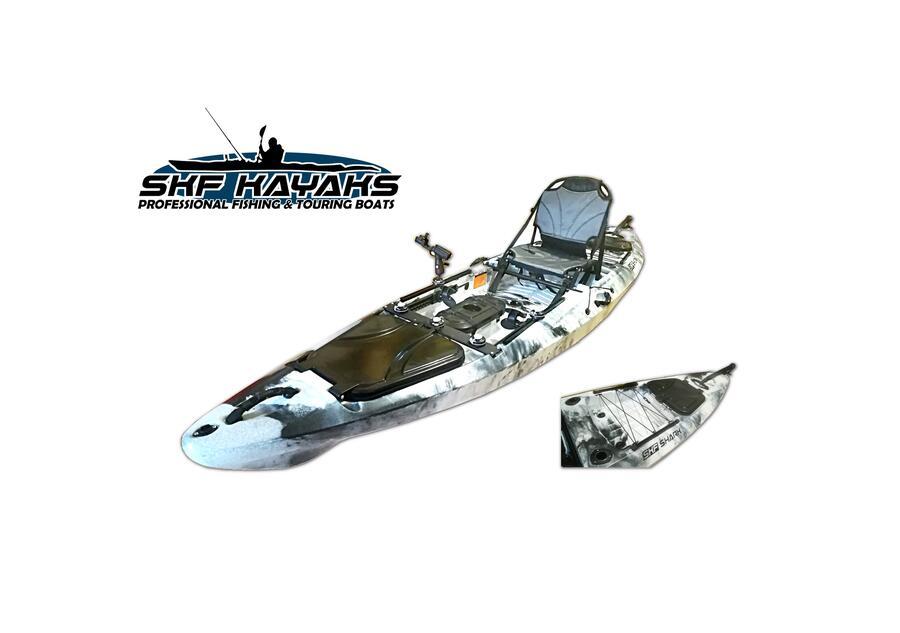 SKF Shark - Kayak da pesca - 400 cm - completo accessori