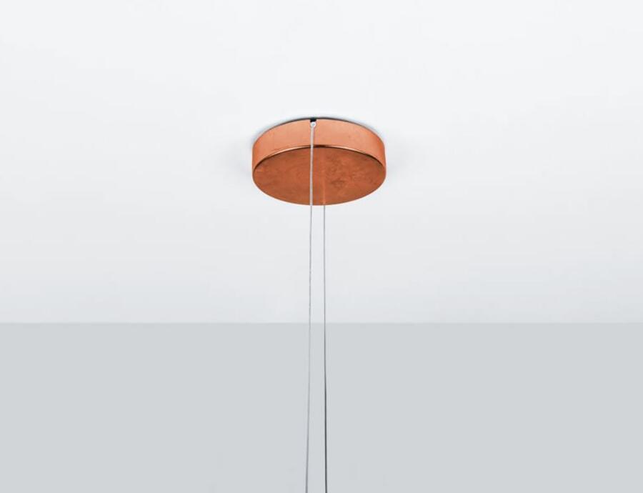 Lampada a Sospensione FLAT 05 al LED di Lumen Center Italia, Varie Finiture - Offerta di Mondo Luce 24