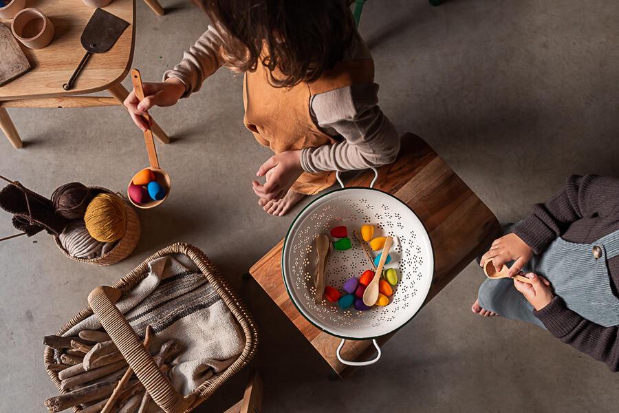 Mandala Rainbow Eggs - Uova Arcobaleno