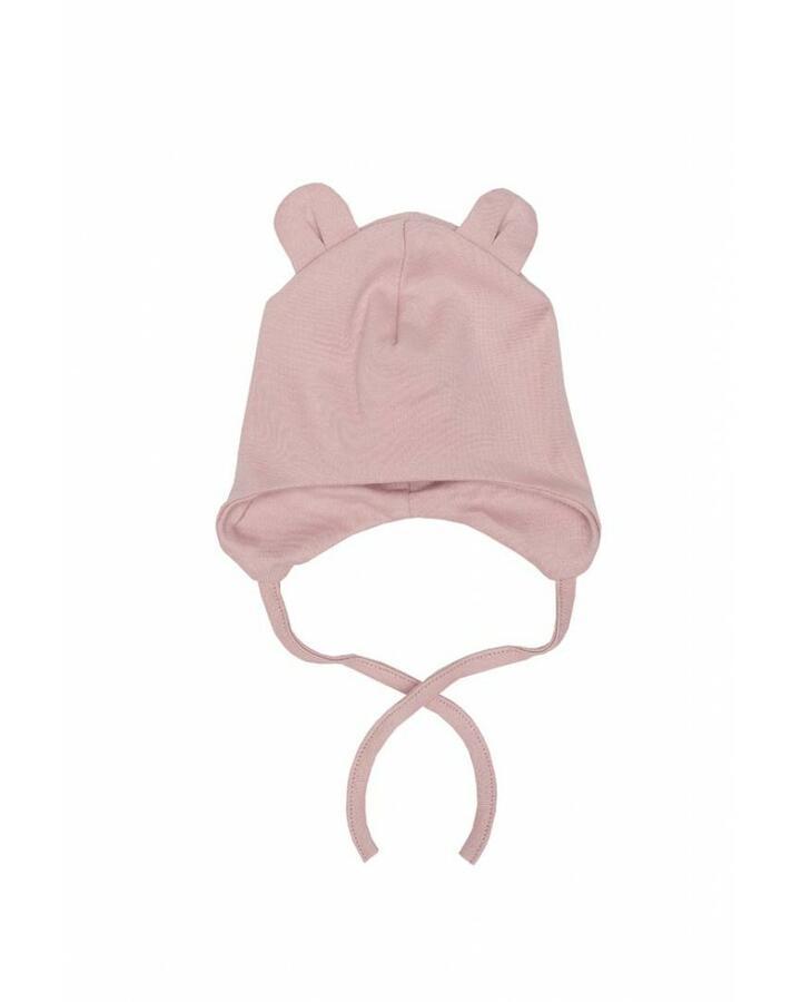 Cappello con orecchie Teddy - Rosa