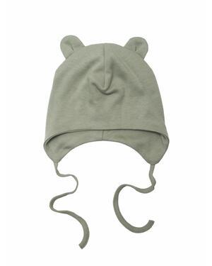Cappello con orecchie Teddy - Sage green