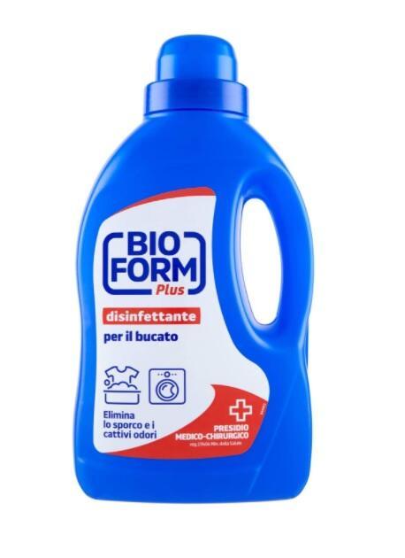 Bio Form Plus Disinfettante Bucato Liquido, 1.5L
