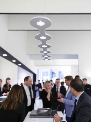 Lampada a Sospensione FLAT 06 al LED di Lumen Center Italia, Varie Finiture - Offerta di Mondo Luce 24